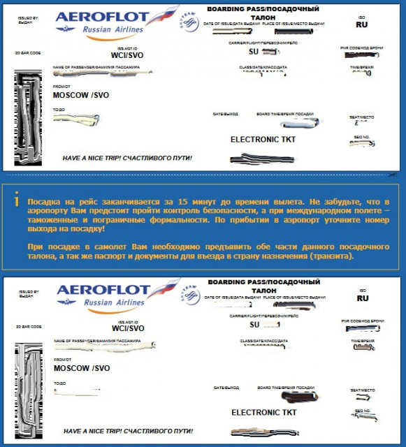 Как сделать онлайн регистрацию на самолет