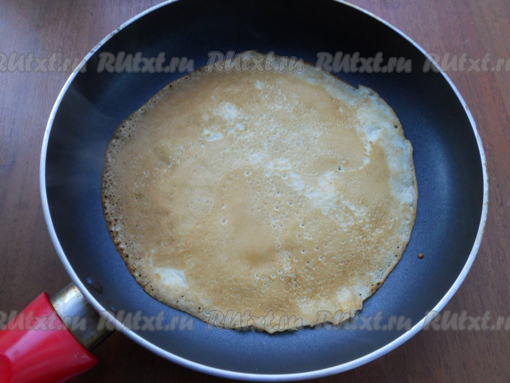 Тонкие блины рецепт с фото пошагово с дырочками