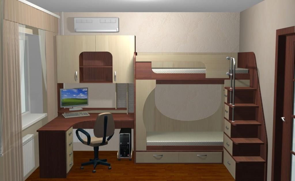 Дизайн комнаты 9 кв м для мальчика