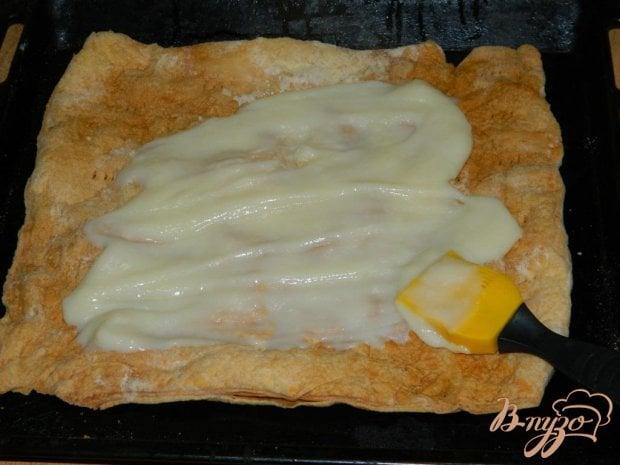 Торт из слоёного теста рецепт с пошагово