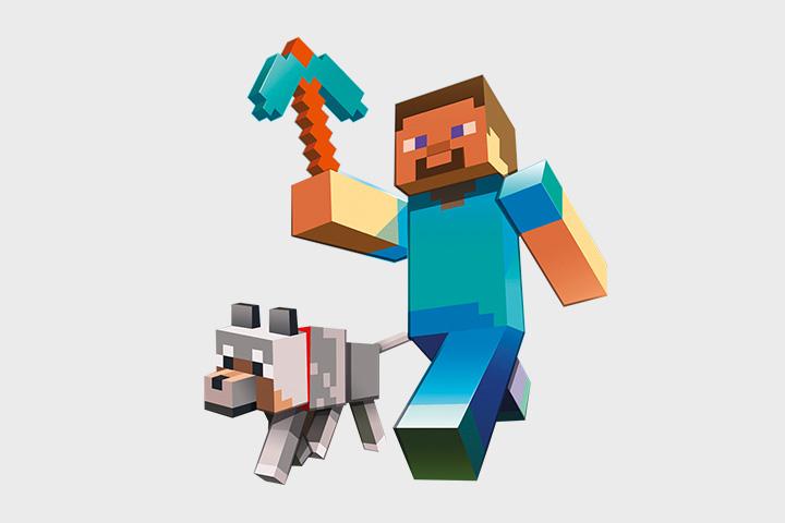 Стив со своей собакой чем-то напоминает Финна и Джейка из «Времени приключений»
