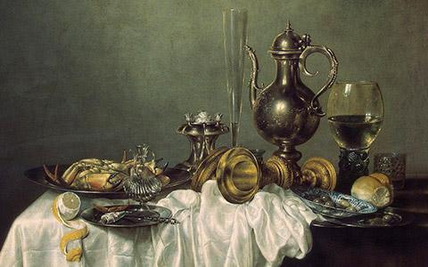 Запрещенные продукты на картинах старых мастеров