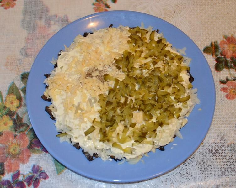 Салат старый мельник рецепт пошагово