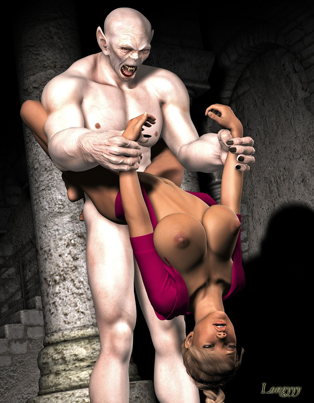 Vampire sex beautiful girl 3d picture sexy scene