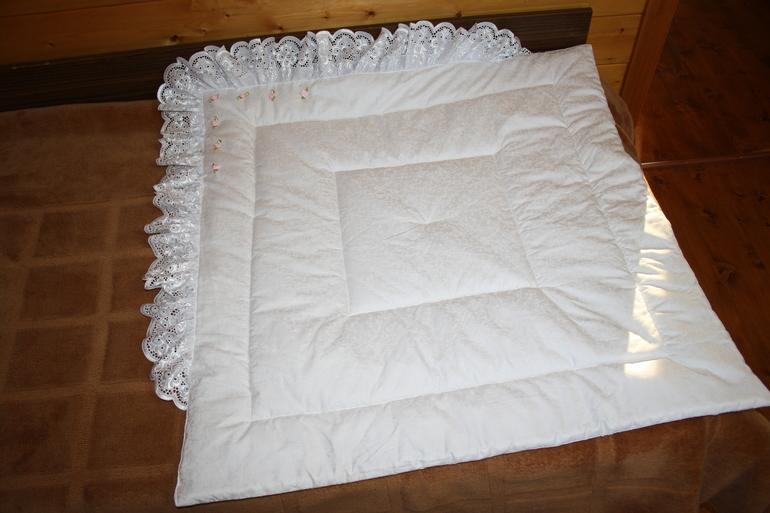 Одеяло на выписку своими руками зима