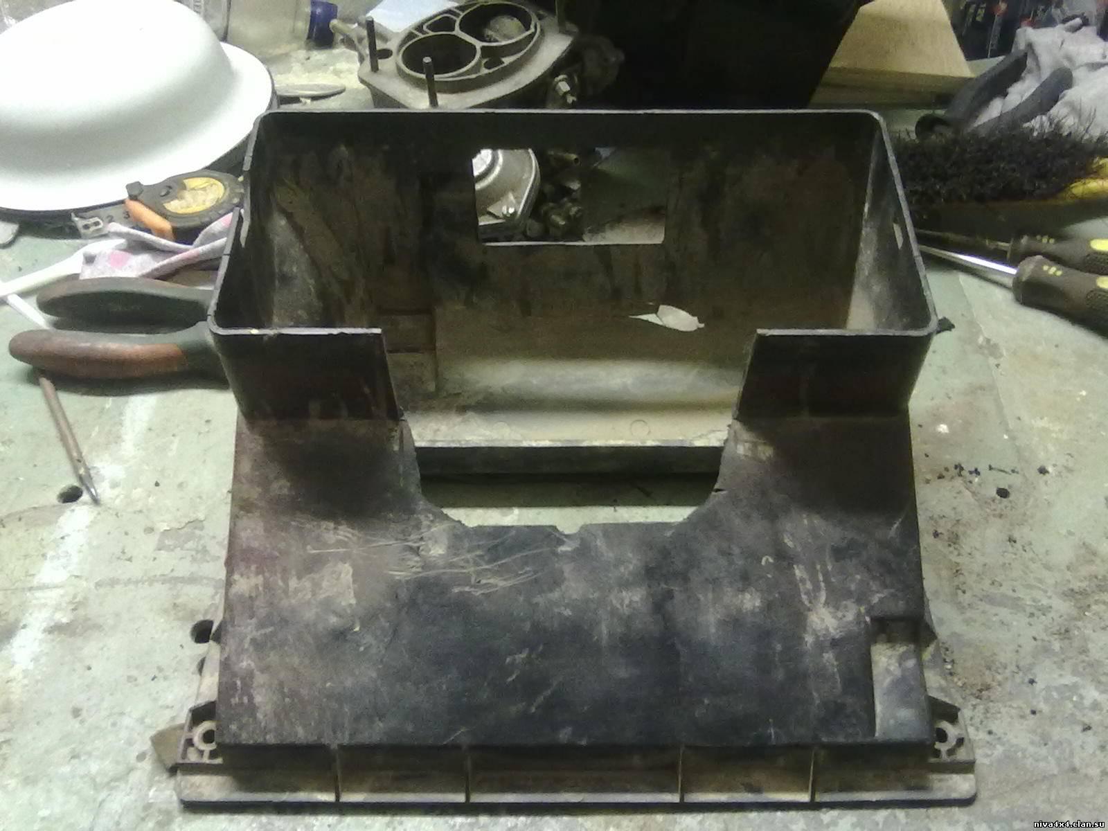 Печка на ниву от 2108 своими руками 73