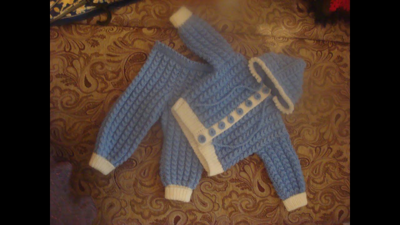 [Вязание детское костюмчики