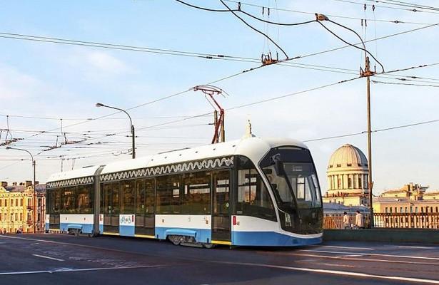 ВЧелябинск дляиспытаний прибыл новый тверской трамвай «Богатырь М»
