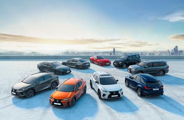Lexus реализовал вЕвропе более миллиона автомобилей