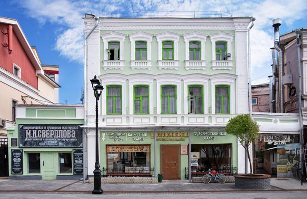 Фасад икровлю здания бывшей мастерской Свердлова отремонтируют доконца года