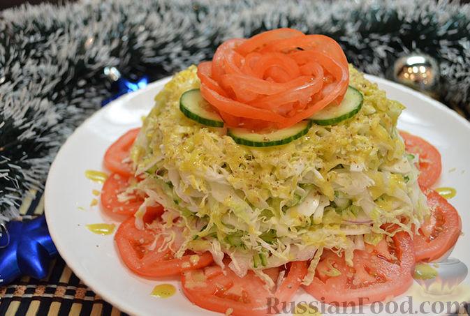 Рецепты салатов с фото разных блюд