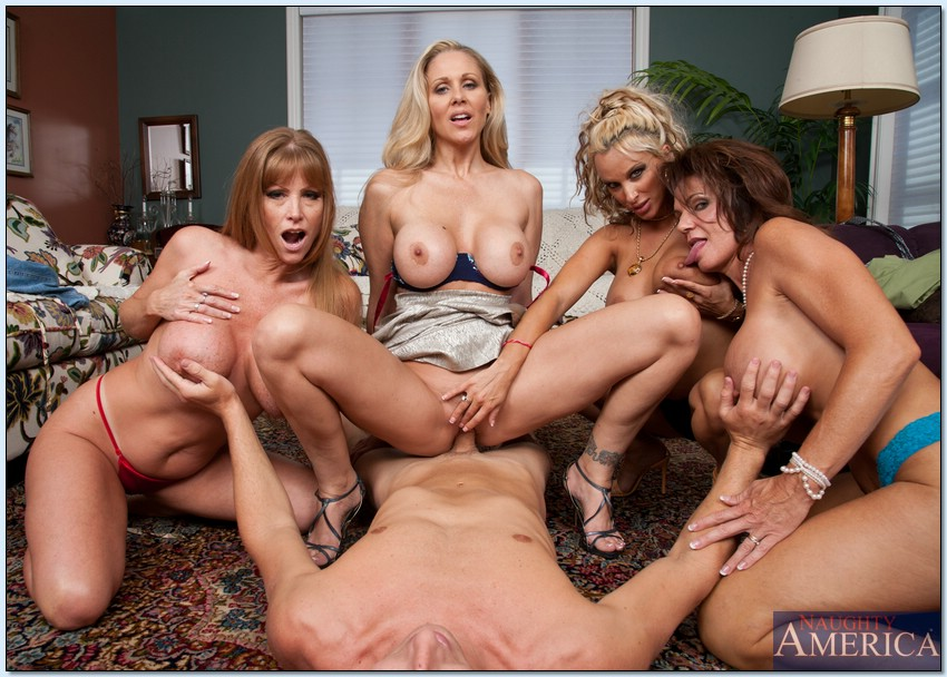 Hot mature orgy with hot milfs