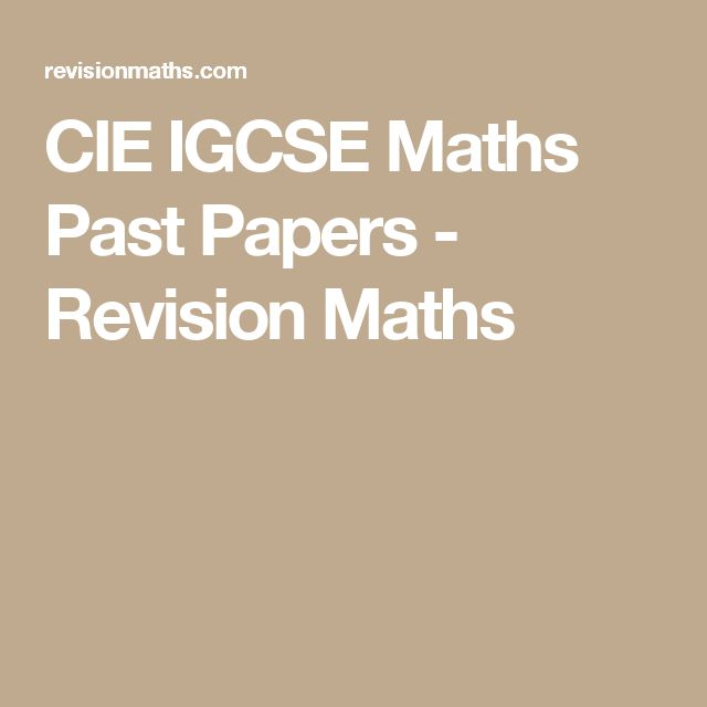 Edexcel past papers maths igcse higher