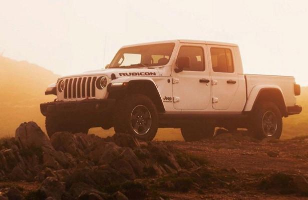 ВЕвропе стартовали продажи пикапа Jeep Gladiator