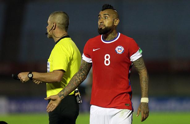 Голы Видаля иСанчеса непомогли сборной Чили обыграть Колумбию вквалификации ЧМ-2022