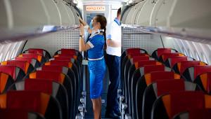 Стюардесса объяснила, почему из-заантисептика тщательнее проверяют багаж