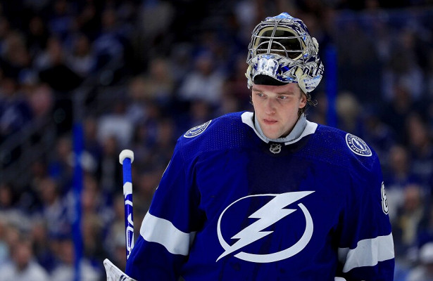 Американский NHL.comсчитает Василевского главным претендентом на«Везина Трофи»