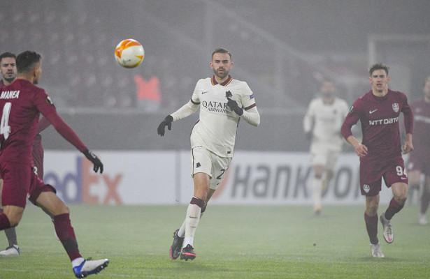 «Рома» гарантировала себе выход вплей-оффЛиги Европы
