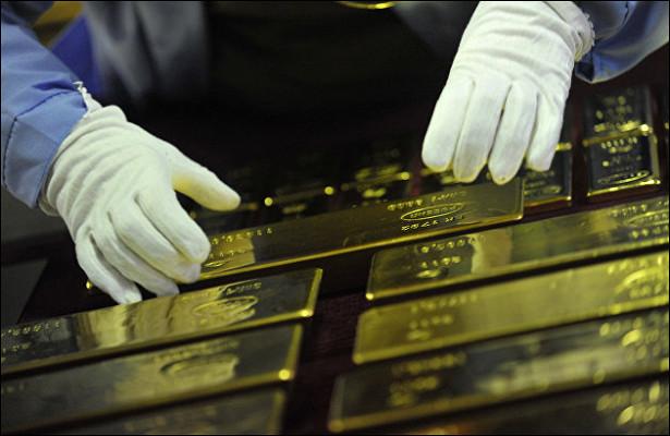 Россия более чемвдвараза увеличила экспорт золота