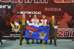 Сотрудники волгоградского УФСИН стали призерами Чемпионата попауэрлифтингу