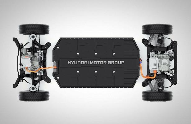 500кмбеззарядки: «тележка» Hyundai длябудущих электрокаров