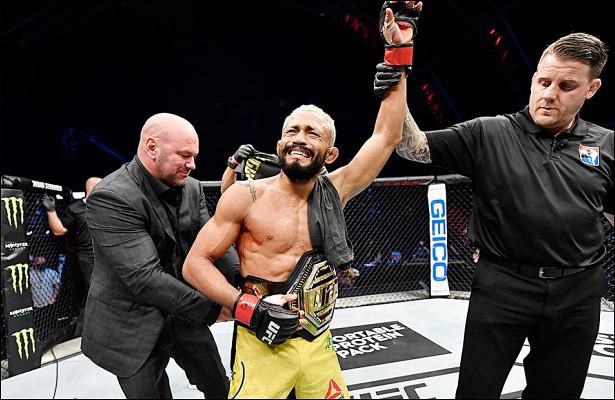 Фигередо защитил титул чемпиона UFCвнаилегчайшем весе