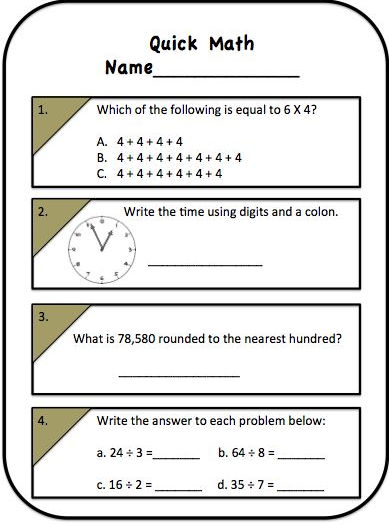 Help with 3rd grade math homework