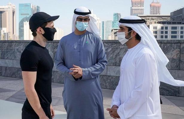 Дуров встретился снаследным принцем Дубая