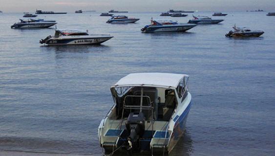 В Андаманском море у берегов Таиланда загорелось судно с дайверами на борту