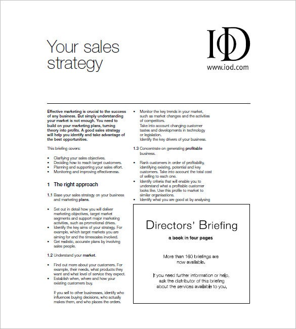 Buy marketing plan examples