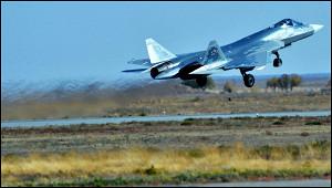 NIоценил мощность пушки Су-57