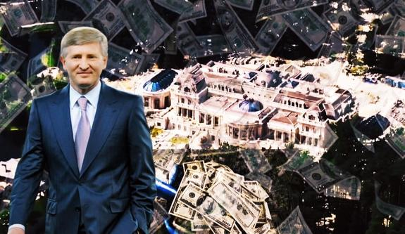 Олигарх Ринат Ахметов поселился вогромном дворце