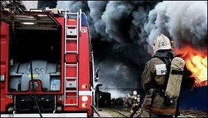 Россиянин устроил пожар вбольнице