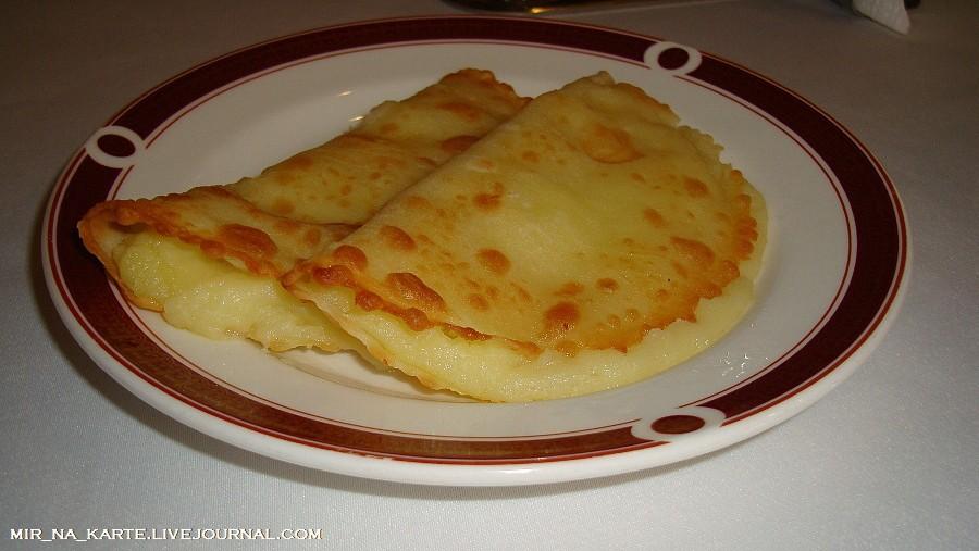 Кыстыбый с картошкой рецепт с фото