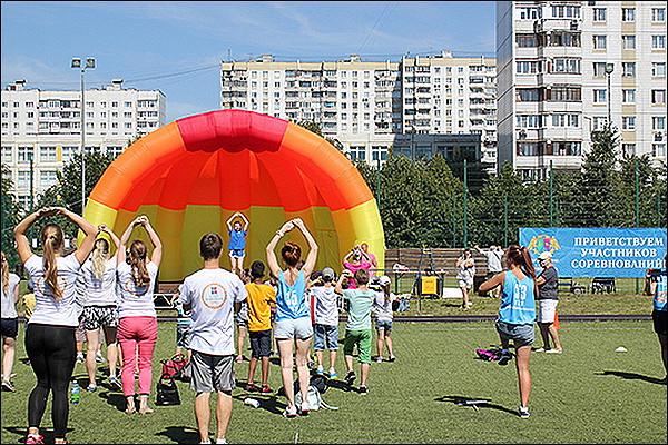 Богородцы отметили День физкультурника наокружном празднике вВешняках