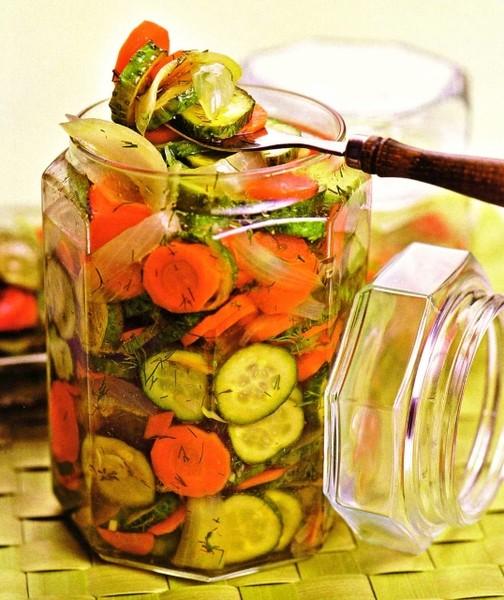Зимние заготовки салаты рецепты с фото