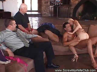 Strangers swinger wife fucked by watched my are