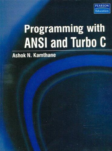 Programming in ansi c balaguruswamy ebook - Soupio