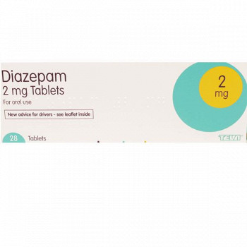 Diazepam compresse 2 mg