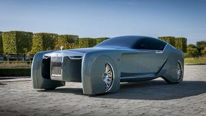 Появились подробности опервом электрокаре Rolls-Royce