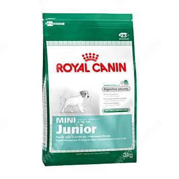 17 кг корм royal canin mini junior