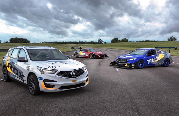 Acura подготовила кгонке погорам седан, кроссовер исуперкар
