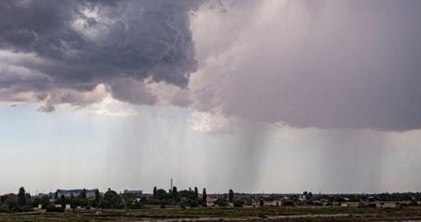 Ветреная погода сгрозами идождями ожидается нагрядущей неделе вЧите