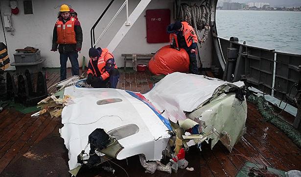 Эксперты усомнились впоявившейся вСМИверсии крушения Ту-154
