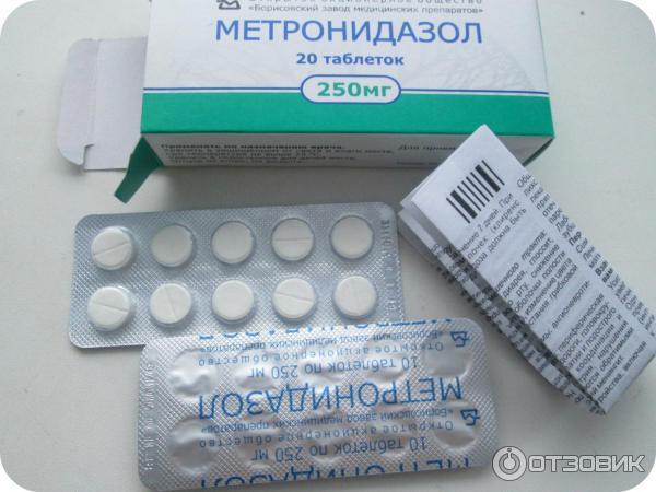 Метронидазол таблетки инструкция по применению при алкоголизме