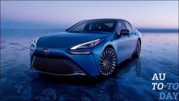 Появились первые подробности нового водородного Toyota Mirai