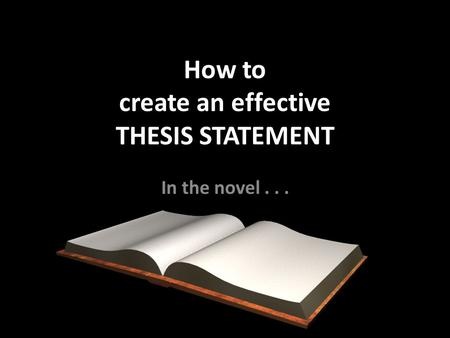 Guidelines for the Preparation of Your Master's Thesis