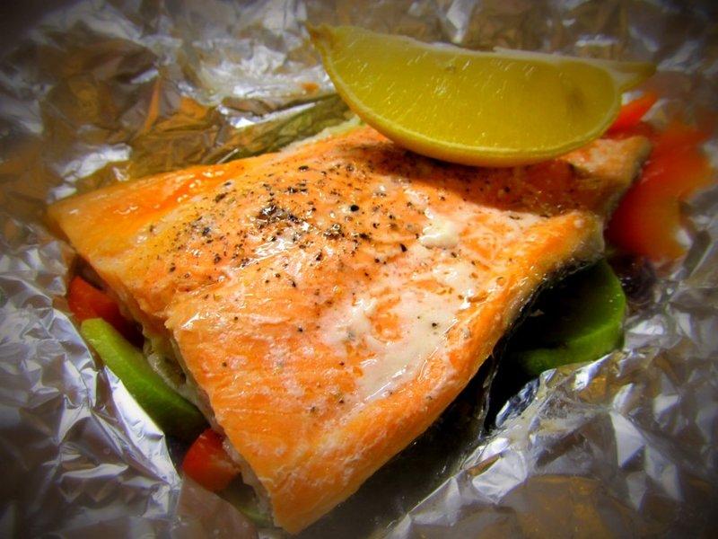 Рыба овощной подушке рецепт фото