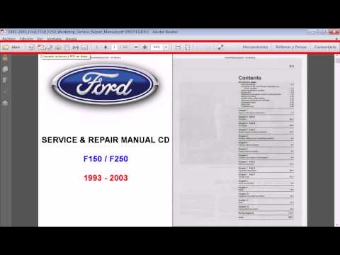 Ford F-150 Workshop Owners Manual - Free Download