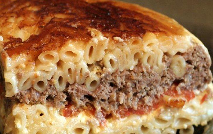 Запеканка из спагетти в духовке рецепт фото